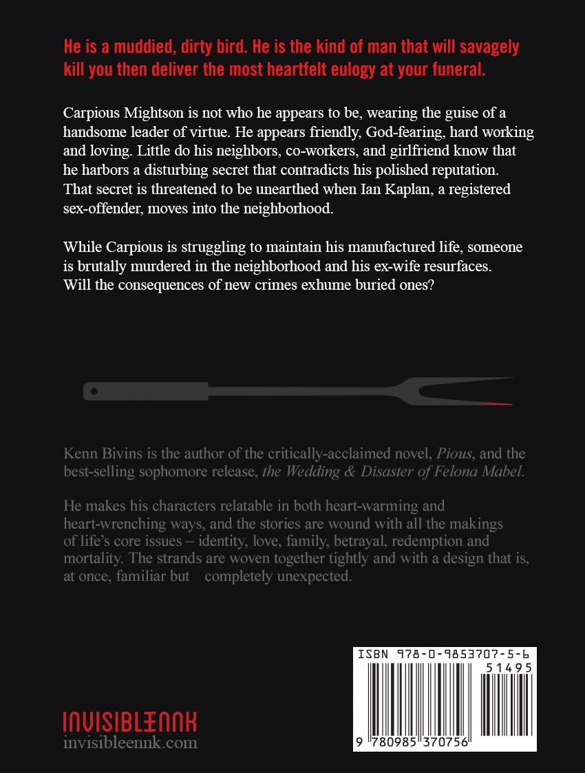 Pious back cover